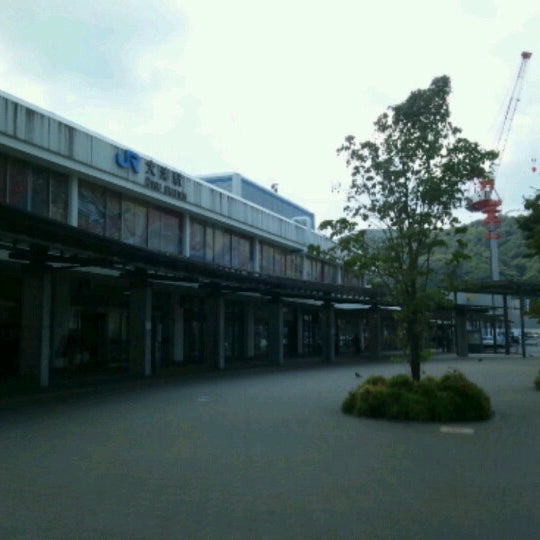Photo taken at Ōtsu Station by shadomobile on 8/18/2012