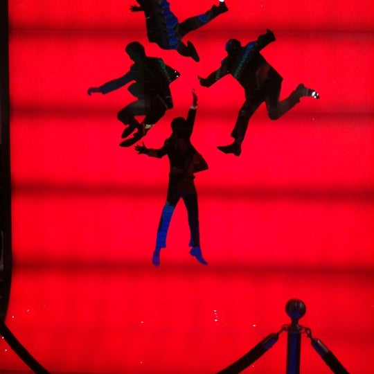 Photo taken at The Beatles LOVE (Cirque Du Soleil) by Cecilia P. on 2/17/2012