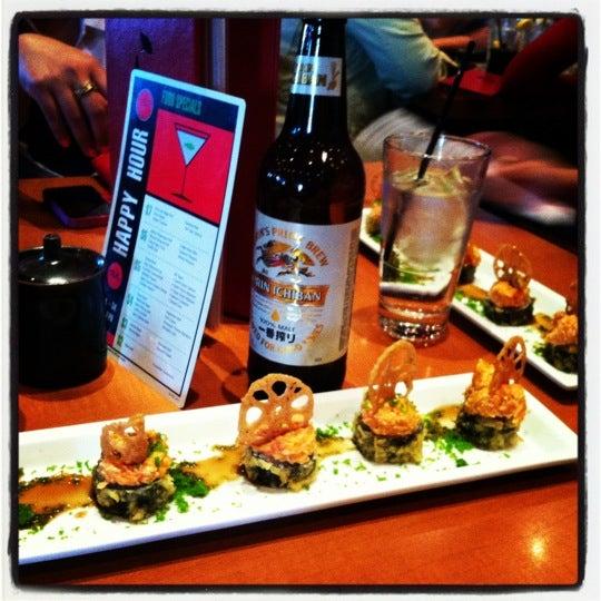 Photo taken at RA Sushi by Denise R. on 3/24/2012