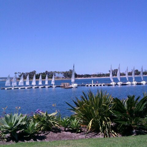Photo taken at Paradise Point Resort & Spa by Roberta R. on 6/5/2012