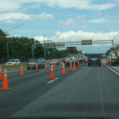 Photo taken at HRBT by Chris B. on 6/23/2011