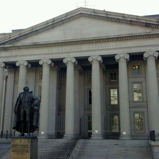 Photo taken at US Department of the Treasury by Michael G. on 12/31/2011