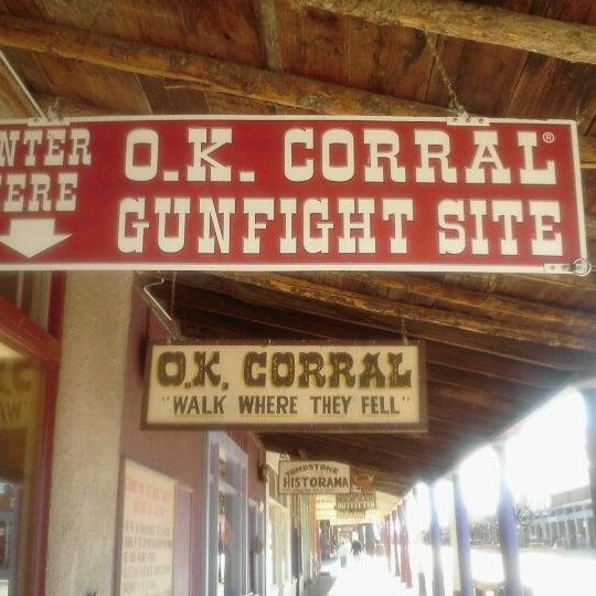 Photo taken at O.K. Corral by Chris R. on 1/8/2012