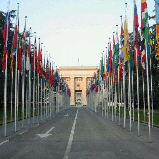 Foto tomada en Palais des Nations por Nanda D. el 1/17/2012