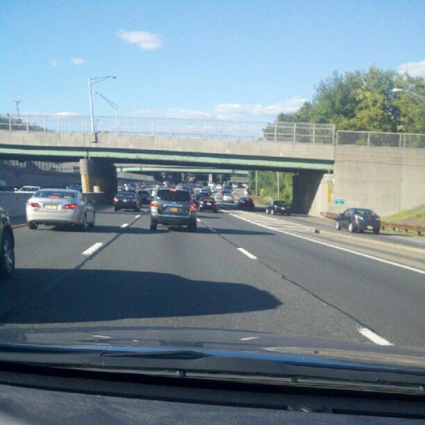 Photo taken at Garden State Parkway -- Saddlebrook by Jonny L. on 8/29/2012