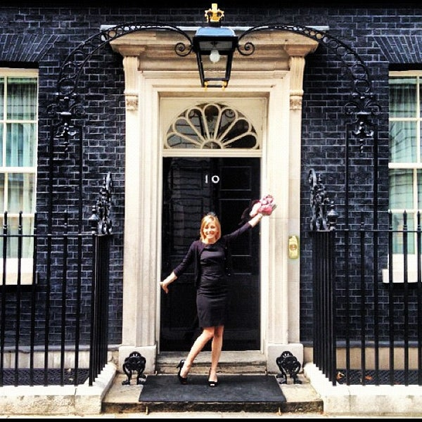 Photo taken at 10 Downing Street by Amy C. on 6/20/2012
