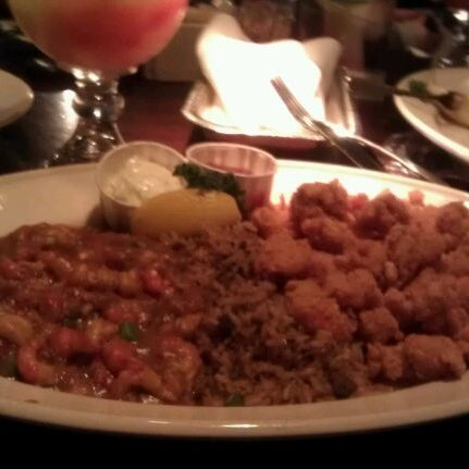Photo taken at Pappadeaux Seafood Kitchen by Cristina M. on 1/12/2012