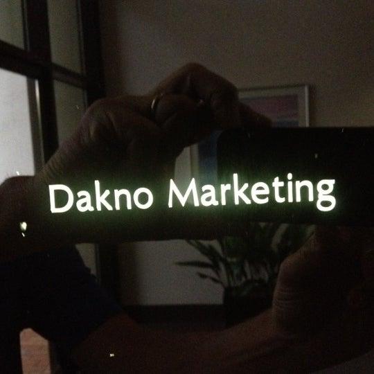 Photo taken at Dakno Marketing by Bobby C. on 6/13/2012