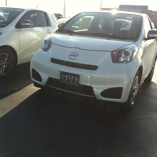 Photo Taken At Green Toyota By Krissy C. On 3/20/2012