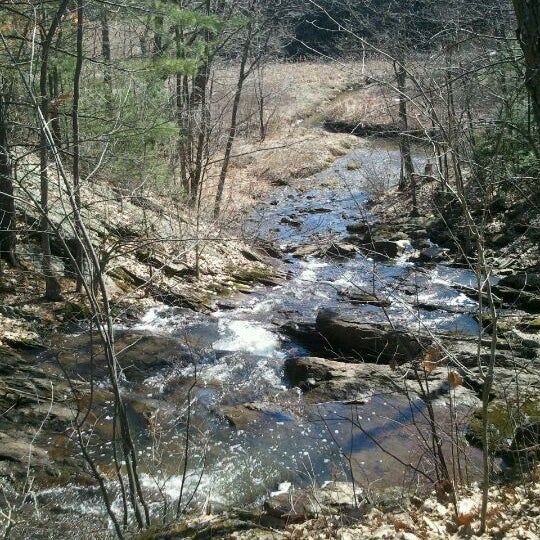 Photo taken at Jewell Falls by Matt W. on 3/18/2012