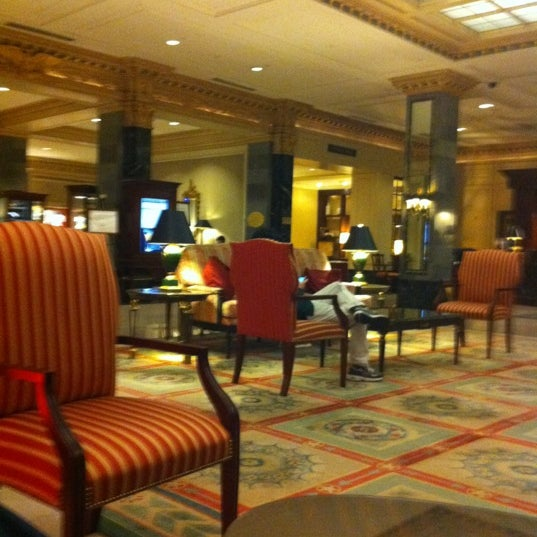 Photo taken at InterContinental New York Barclay by IL M. on 11/17/2011