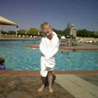 Photo taken at Legacy Golf Resort Poolside by Matthew F. on 5/7/2012