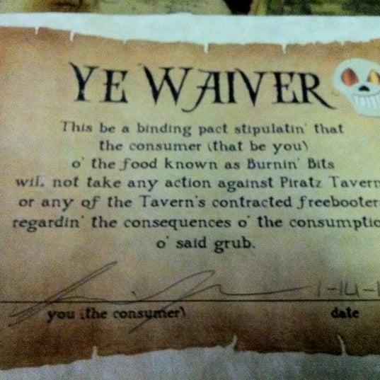 Photo taken at Piratz Tavern by Scott K. on 1/14/2012