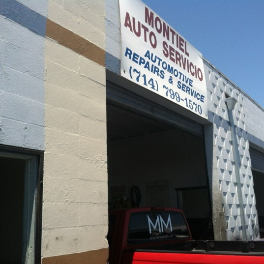 Photo Taken At Montiel Automotive Repair And Service By J. Carlos Z. On 5