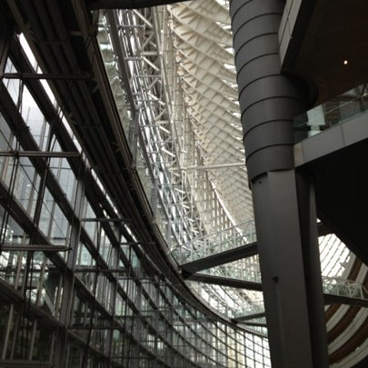 Photo taken at Glass Building by Megumi K. on 8/6/2012