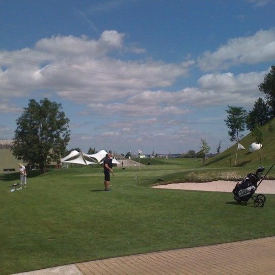 Photo taken at Golf Hostivař by Iveta P. on 7/23/2011