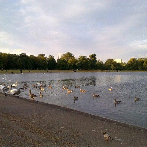Photo taken at Kensington Gardens by Miss R. on 8/28/2012
