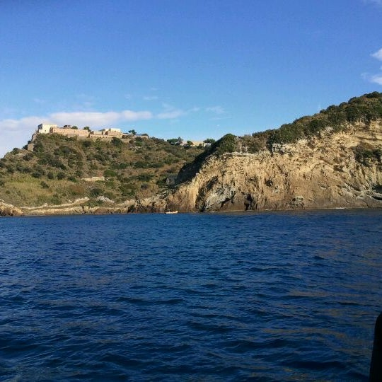 Photo taken at Isola di Nisida - Nisida Island by Stefano P. on 10/9/2011