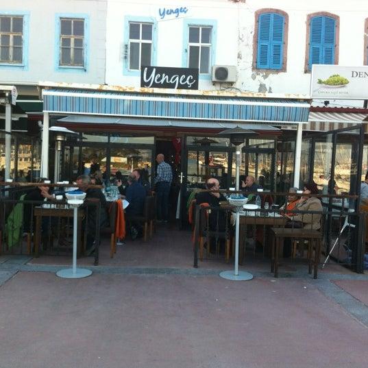 3/4/2012 tarihinde Nes Q.ziyaretçi tarafından Yengeç Restaurant'de çekilen fotoğraf
