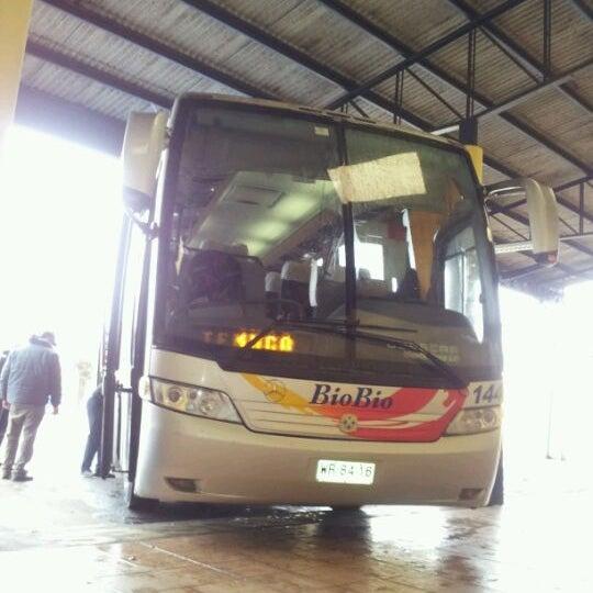 Photo taken at Terminal Buses Bio Bio Victoria by Ignacio C. on 5/6/2012