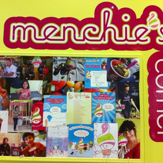 Photo taken at Menchie's Red Bug Village by Myriam S. on 4/12/2012