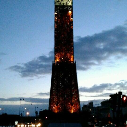 Photo taken at Avenue Habib Bourguiba by خالد ز. on 12/19/2011