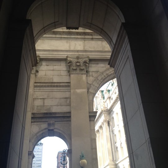 Photo taken at NYC Municipal Building by Nikki N. on 9/1/2012