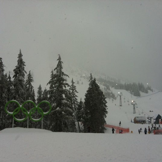 Photo taken at Cypress Mountain Ski Area by Juhan on 2/17/2011