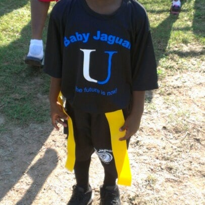 Photo Taken At Central Dekalb Jaguars Football Practice By Tamika L. On 9/8