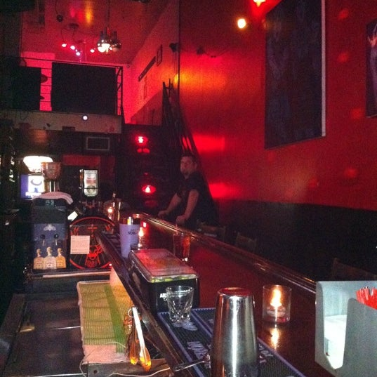 Photo taken at The SKINnY Bar & Lounge by Kirby B. on 9/3/2011