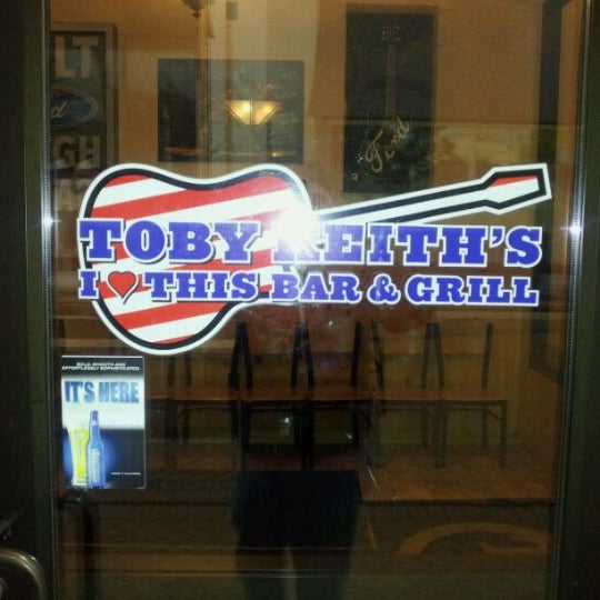 Photo taken at Toby Keith's I Love This Bar & Grill by Adam J. on 2/21/2012