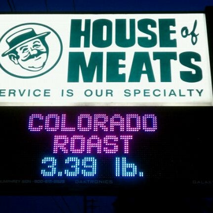 Photo Taken At House Of Meats By Jim M. On 9/2/2011