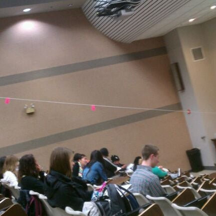 Photo taken at UWM Lapham Hall by Carrie B. on 1/26/2012