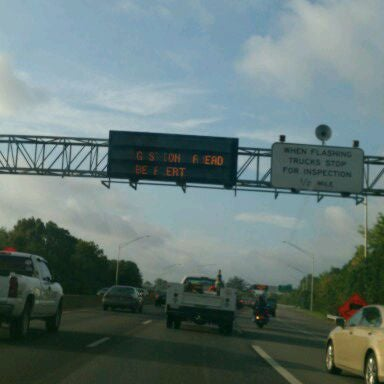 Photo taken at HRBT by Jamar D. on 9/6/2011