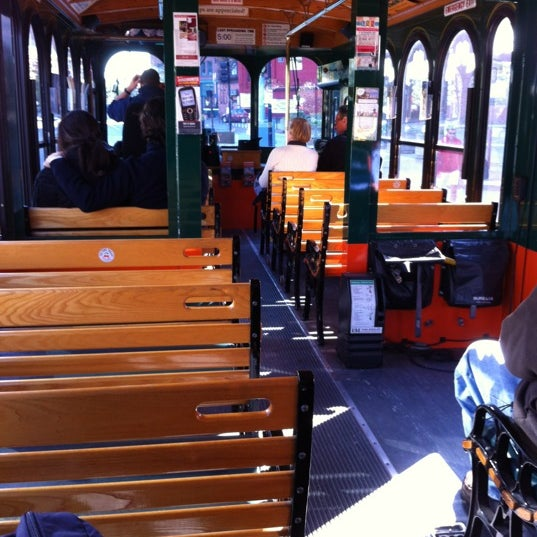 Photo taken at Old Town Trolley Tours of Boston by Crystal H. on 10/16/2011