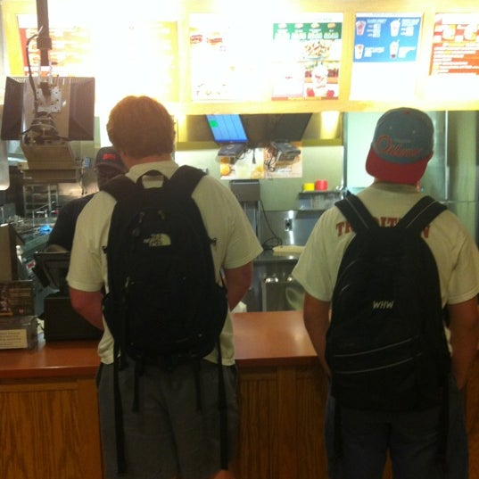 Photo taken at Wendy's by Bryce on 8/9/2012