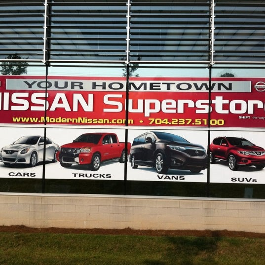 Photo Taken At Modern Nissan Of Lake Norman By Terald H. On 7/22