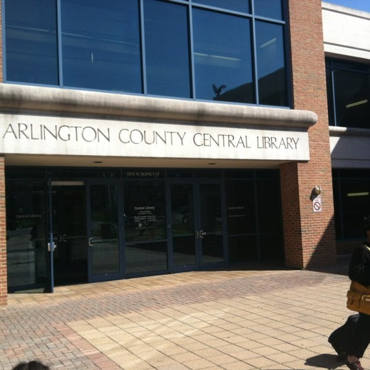 Arlington Central Library Reserve Room