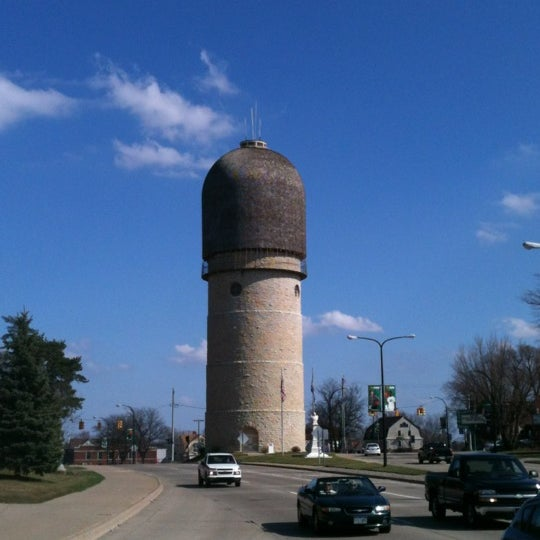 Photo taken at Ypsilanti Water Tower by Haowei C. on 3/17/2012