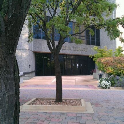 Photo taken at Carrier Library by Ameh C. on 8/29/2011