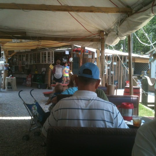 Photo taken at The Shed Barbeque and Blues Joint by Jeff L. on 5/18/2012