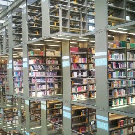 Photo taken at Biblioteca Vasconcelos by Manuel C. on 8/21/2012