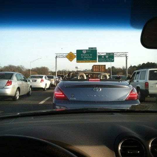 Photo taken at HRBT by Chris R. on 3/1/2012