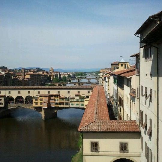 Photo taken at Uffizi Gallery by Angela B. on 4/9/2012