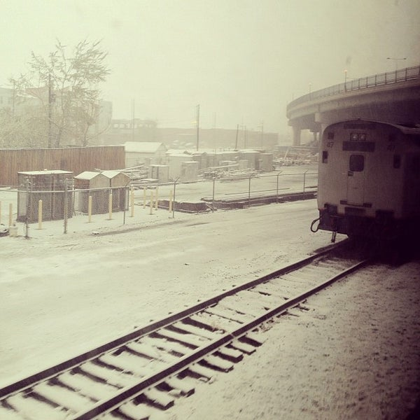 Photo taken at Denver Amtrak (DEN) by Melissa F. on 4/3/2012