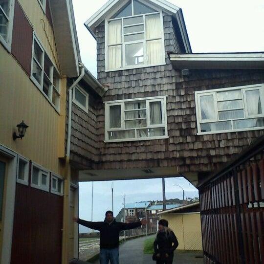 Photo taken at Hostería La Nave by Araceli M. on 2/28/2012