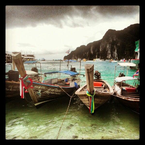 Photo taken at Phi Phi Island by Oleg G. on 9/5/2012