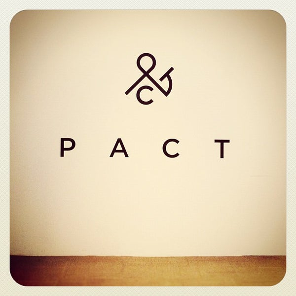 Photo taken at Pact by T Y Z. on 6/2/2012