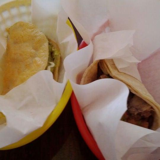 Photo taken at La Victoria Taqueria by Gerardo M. on 3/26/2012