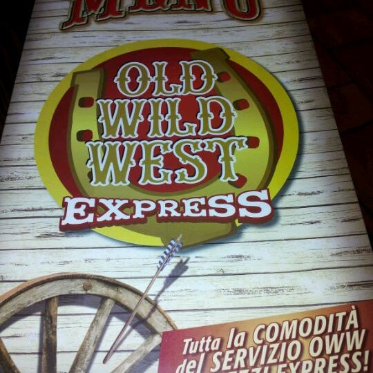 Photo taken at Old Wild West Express by Dario L. on 2/14/2012